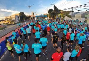 A etapa de São Bernardo do Campo do Circuito Sesi-SP Corrida de Rua: a indústria em defesa da qualidade de vida. Foto: Ayrton Vignola/Fiesp