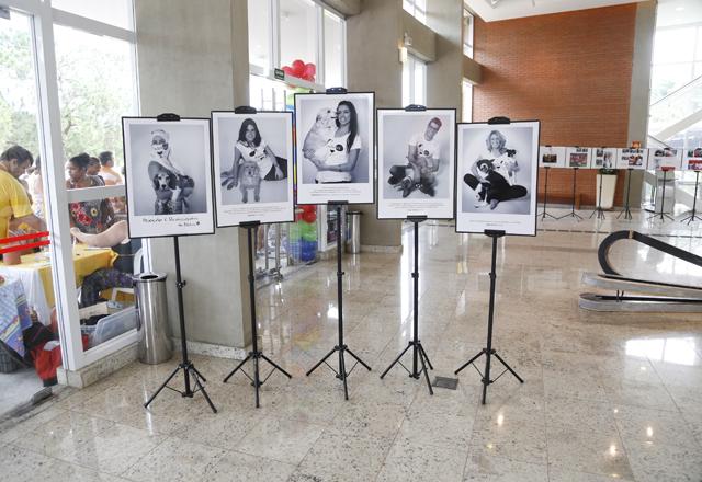 A exposição #Adotei em São José do Rio Preto: 33 animais adotados na cidade. Foto: Everton Amaro/Fiesp