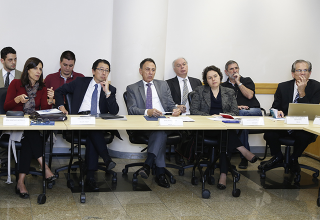 A reunião do Grupo de Trabalho sobre Construção Industrializada: mais parcerias. Foto: Everton Amaro/Fiesp