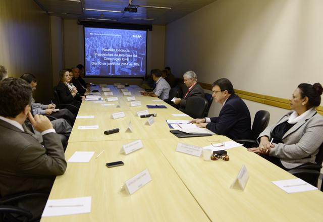 A reunião do Grupo de Trabalho do Deconcic: debate alinhado com o mercado. Foto: Helcio Nagamine/Fiesp