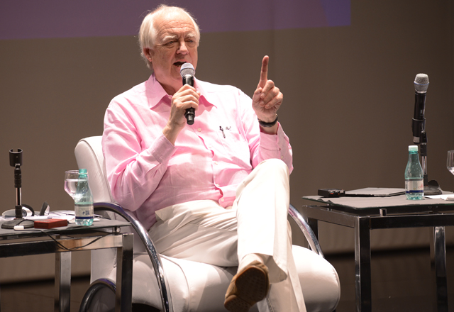 """Rice no Teatro do Sesi-SP: """"Em meus sonhos eu não tinha ideia do que faria"""". Foto: Helcio Nagamine/Fiesp"""