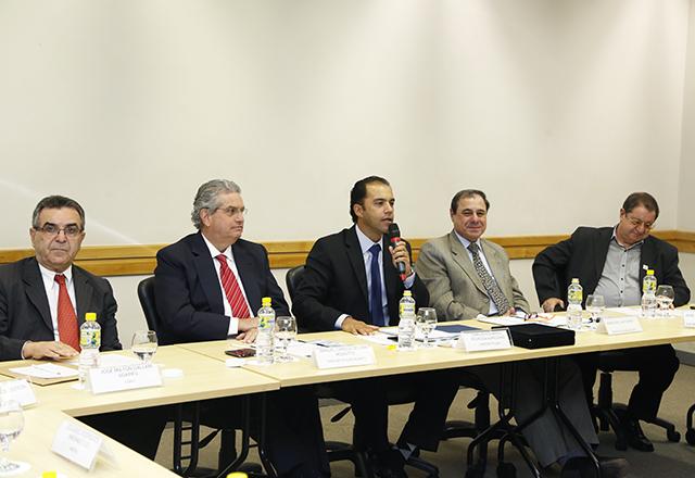 A reunião do Deconcic: temas do interesse da indústria em debate. Foto: Tâmna Waqued/Fiesp
