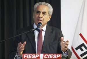 Lazzarini Filho: grande mídia privilegia a divulgação de notícias negativas. Foto: Tâmna Waqued/Fiesp