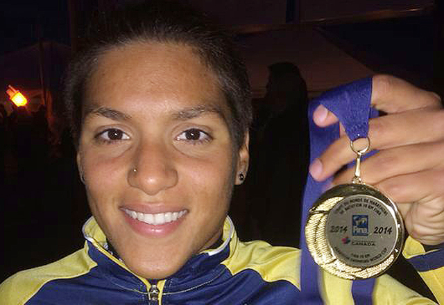 """Ana Marcela: """"A prova foi decidida por centímetros e, felizmente, a meu favor"""". Foto: Arquivo Pessoal"""