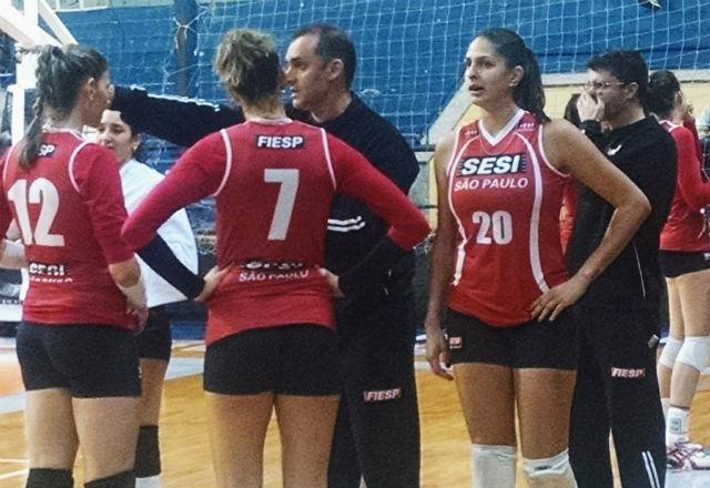 Time feminino do Sesi-SP estreia a temporada com vitória. Foto  Lucas  Dantas Fiesp bd3b3af00f189