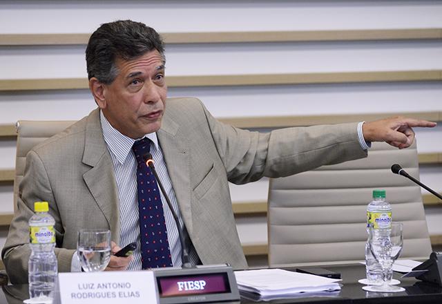 """Elias: Empresas inovadoras continuam centralizadas na região sudoeste"""". Foto: Helcio Nagamine/Fiesp"""