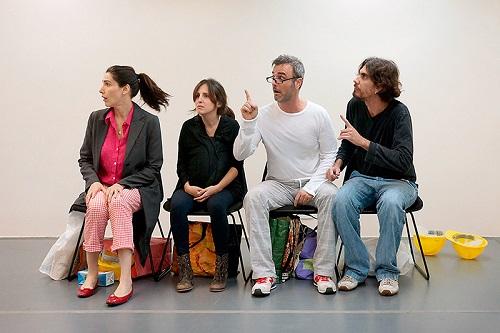 Virginia Cavendish, Luana Martau, Marcelo Valle e Zéu Britto integram o elenco da comédia 'Não vou pagar!' Foto: Divulgação