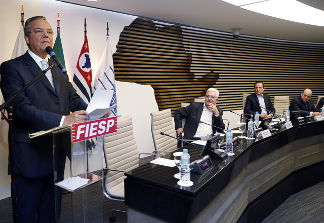 Gouvêa Vieira: em defesa dos interesses das indústrias. Foto: Ayrton Vignola/Fiesp