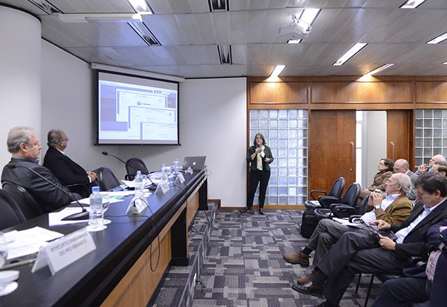 Apresentação do Projeto iTec, do MCTI, durante reunião do Conic da Fiesp. Foto: Helcio Nagamine/Fiesp
