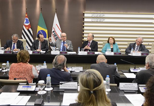 Reunião do Conselho de Estudos Avançados (Consea) da Fiesp. Foto: Helcio Nagamine/Fiesp