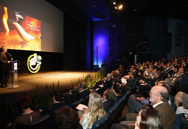 Consultor Ricardo Voltolini fala sobre liderança sustentável na Fiesp. Foto:Augusto Marques/Fiesp