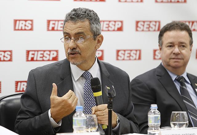 Maurício Antonio Lopes, presidente da Embrapa, durante reunião sobre agronegócio na Fiesp. Foto: Helcio Nagamine/Fiesp
