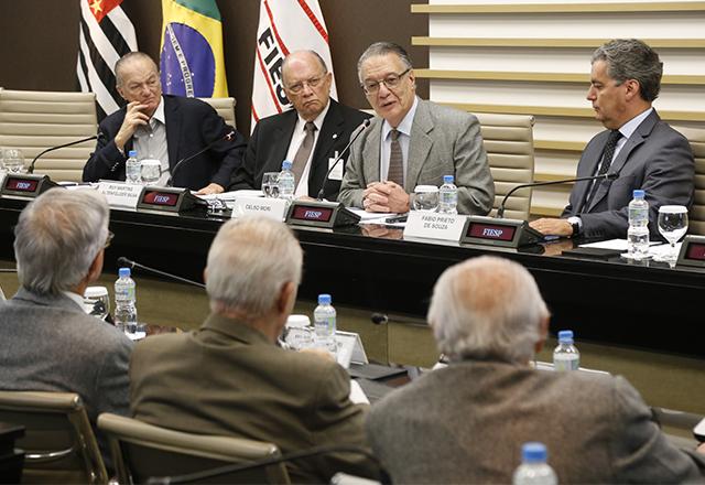 Reunião do Conselho Superior de Estudos Avançados da Fiesp com a participação de Celso Mori. Foto: Helcio Nagamine/Fiesp