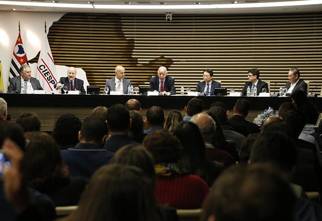 Evento Gestão Eficiente do FAP, com Marcelo Caetano. Foto: Helcio Nagamine/Fiesp
