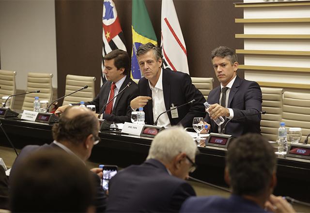 Reunião do Conselho Superior de Infraestrutura da Fiesp. Foto: Helcio Nagamine/Fiesp