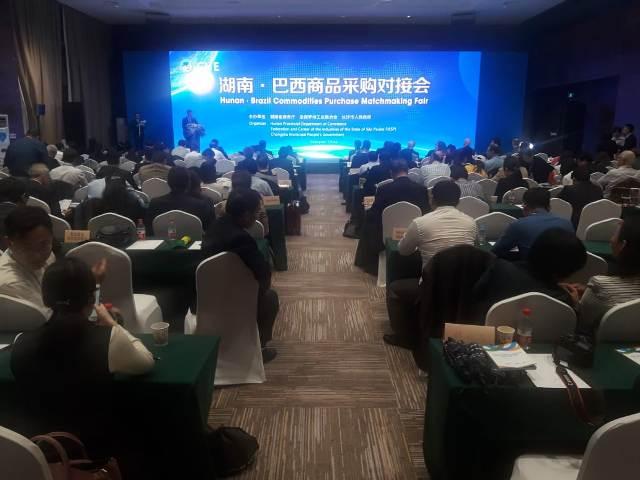 Encontro da missão da Fiesp com o governo da província de Hunan. Foto: Mayara Baggio/Fiesp