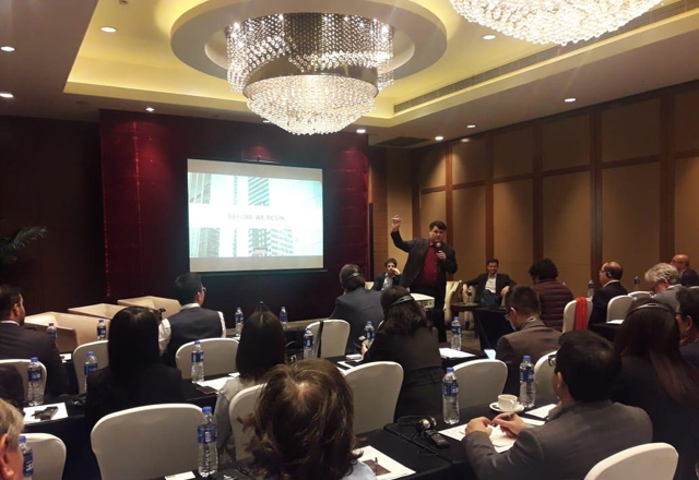 delegação brasileira participou de um workshop sobre e-commerce realizado em parceria com a Apex-Brasil e a CNA. Foto: Fiesp/Divulgação