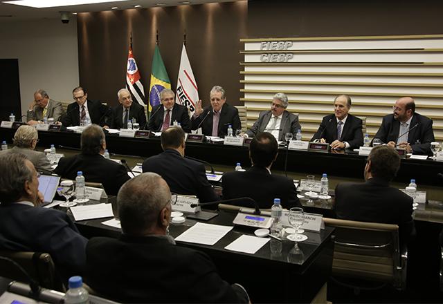 Reunião conjunta dos conselhos superiores de Construção e Infraestrutura da Fiesp. Foto: Helcio Nagamine/Fiesp