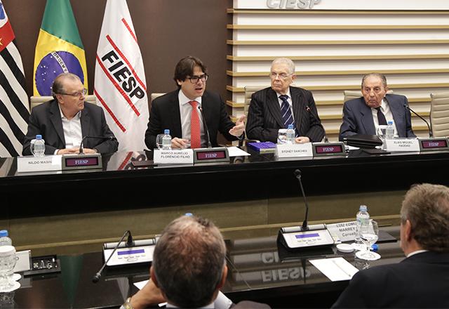 Reunião do Conjur com a participação de Marco Aurélio Florêncio Filho. Foto: Helcio Nagamine/Fiesp