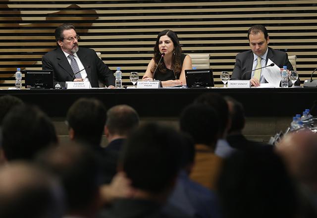 Luciana Nunes Freire no 3º Congresso de Segurança e Defesa Cibernética. Foto: Helcio Nagamine/Fiesp