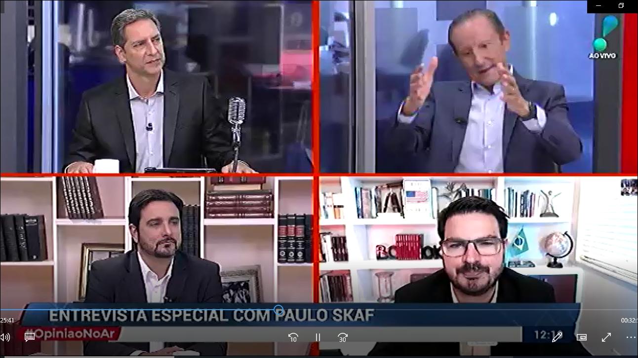 Paulo Skaf defende retomada de agenda positiva para o país